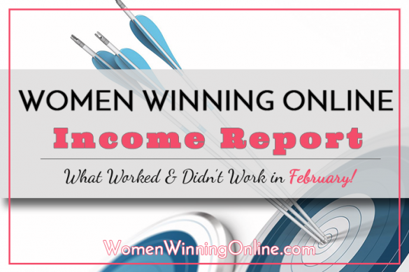 Women Winning Online Blog Income Report