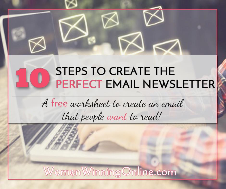 Email Worksheet Women Winning Online