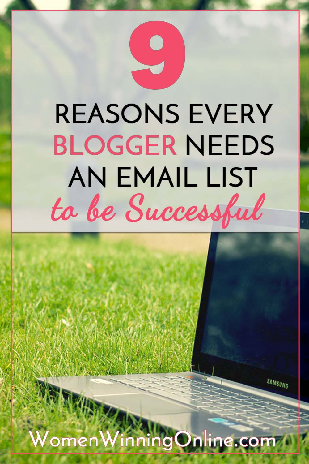 Why your email list is the best thing for your blog!