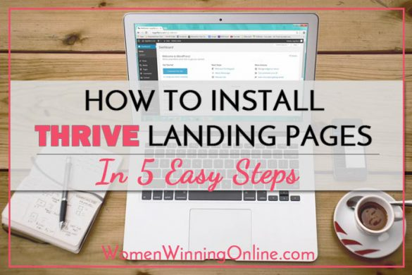 How to Install Thrive Landing Pages in 5 Easy Steps