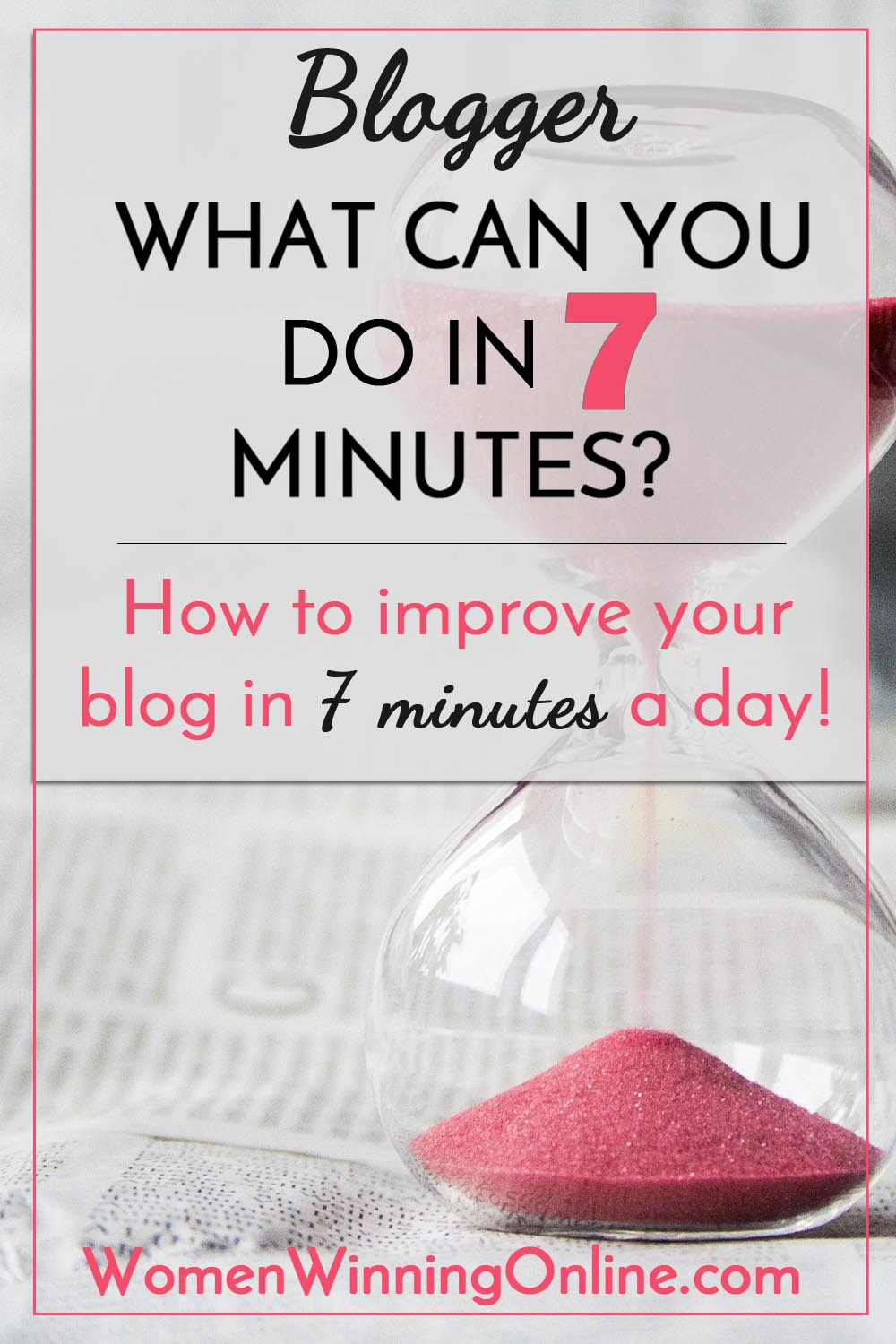 How to grow your blog in 7 minutes a day