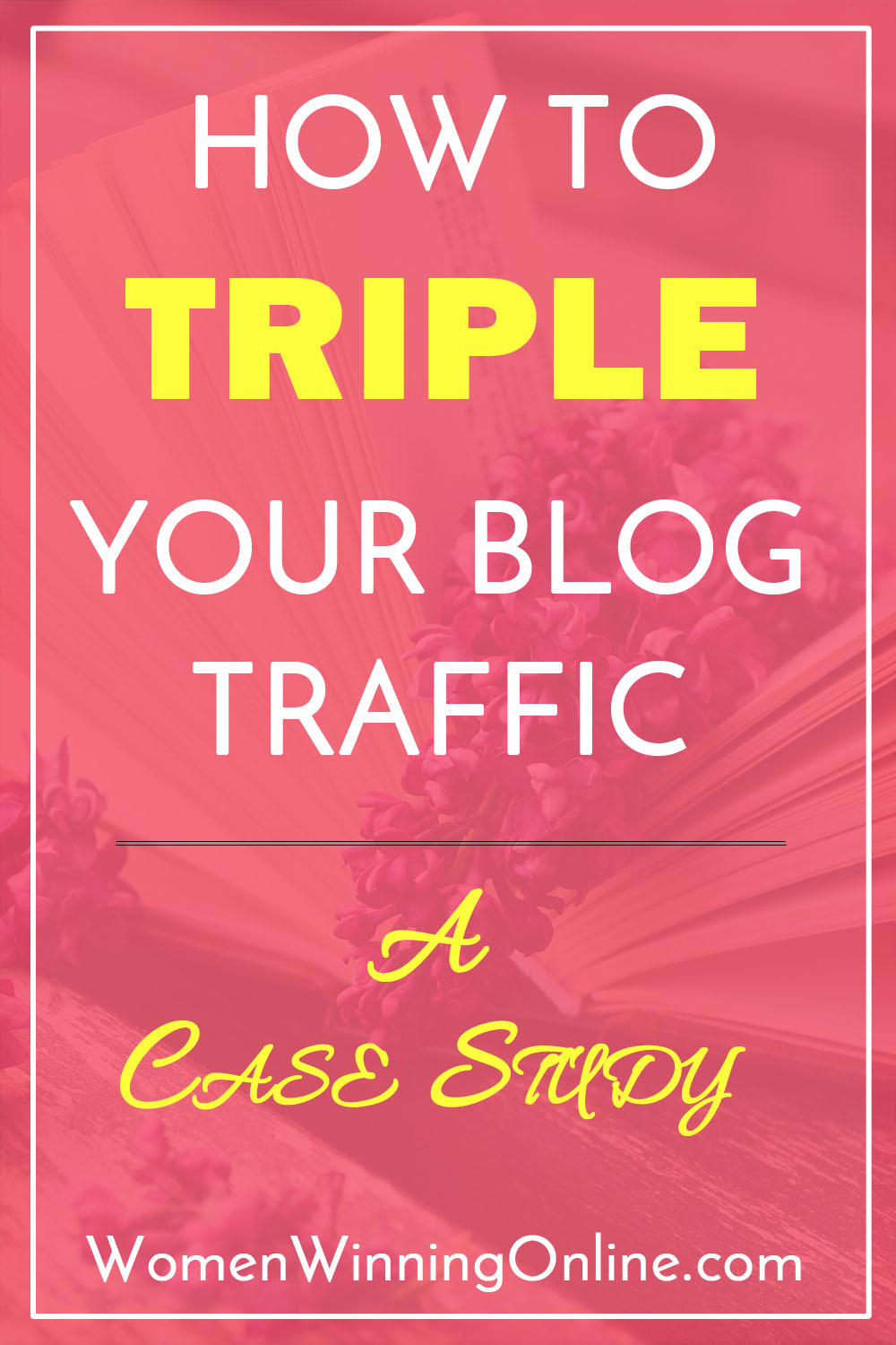 How to triple your blog traffic