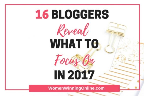 16 Bloggers What to Focus On in 2017 FI