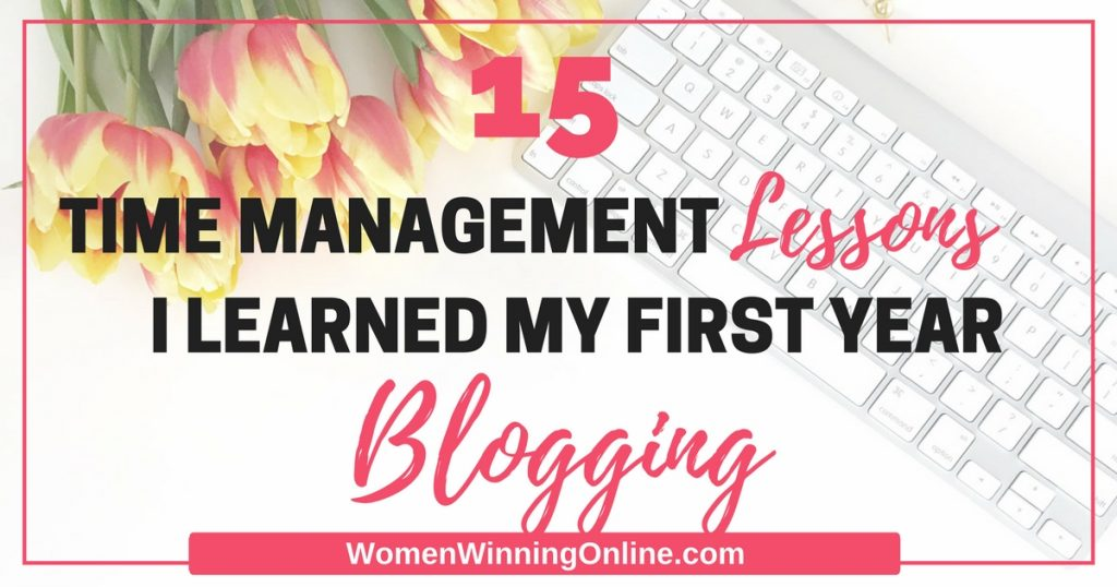Struggling with time management for your blog? Check out these 15 tips for help. Number 10 is my favorite!
