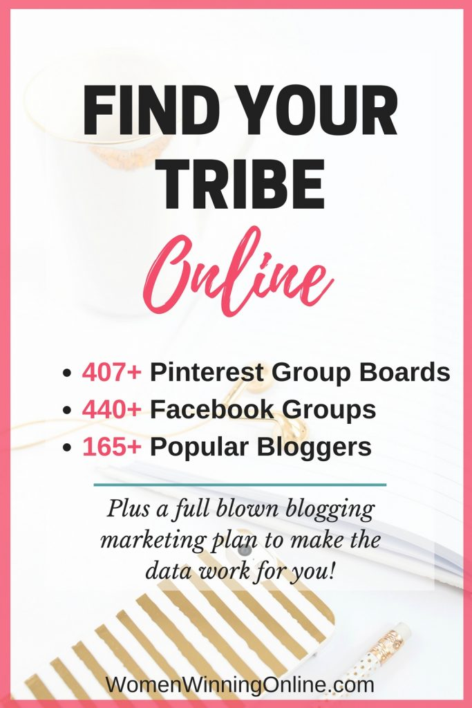 Find your tribe online and grow your blog!