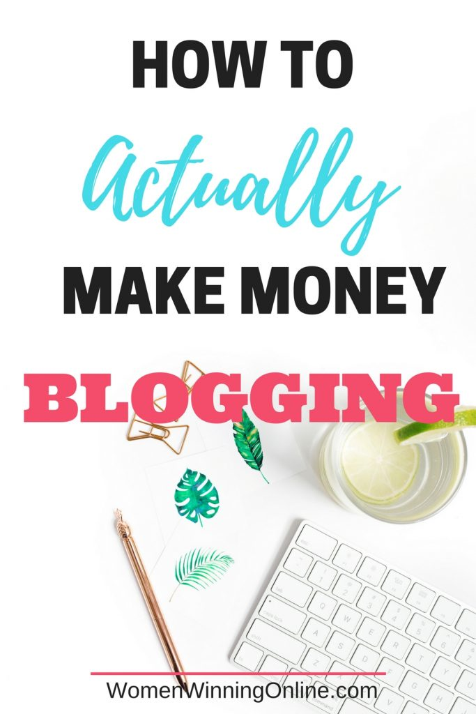 Confused on how to really make money blogging? Click through to read the 7 steps you need to do to make money as a blogger...